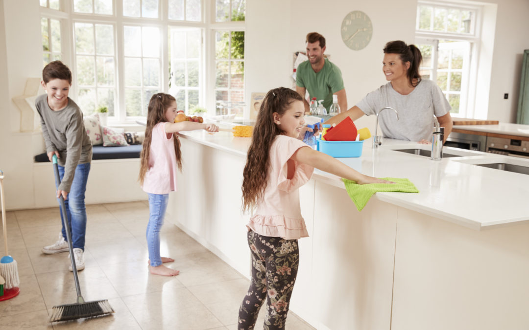 Build Self-Esteem in Your Children by Giving Them Chores.