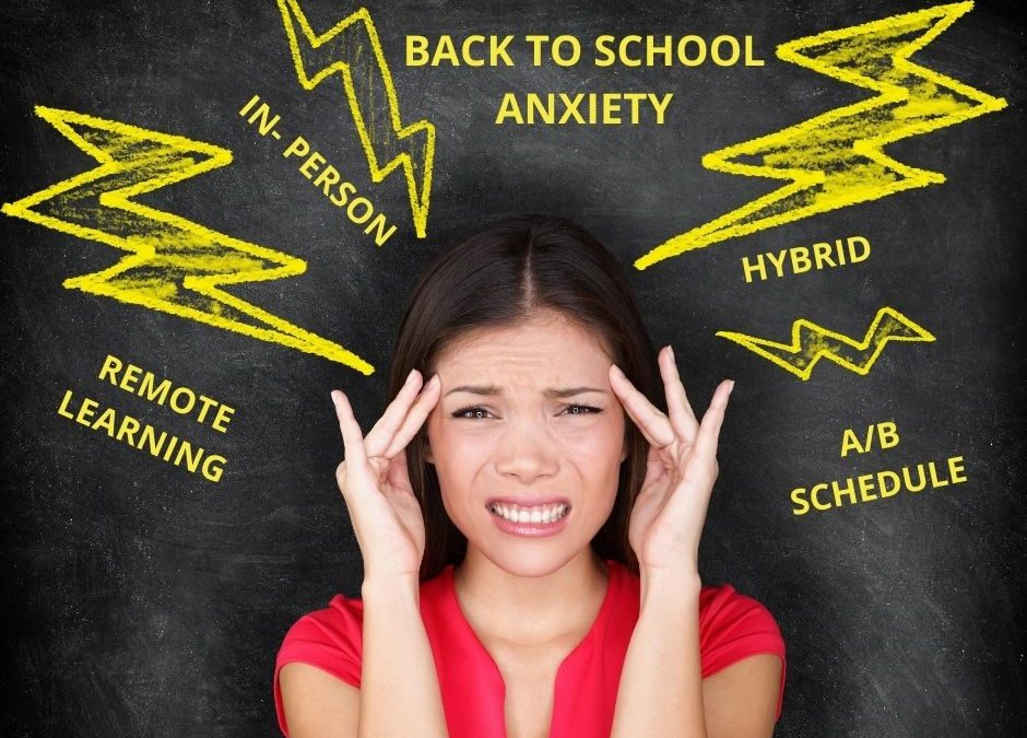 The Anxiety of Back to School For Adults